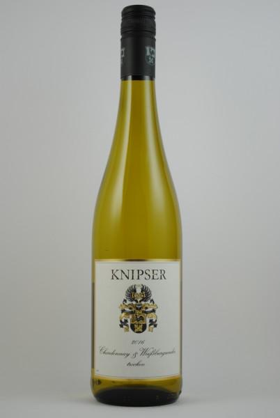 2019 Chardonnay & Weissburgunder QbA trocken, Knipser